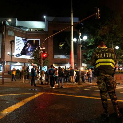 Мощный взрыв прогремел в торговом центре в Колумбии, есть жертвы