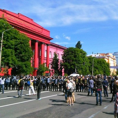 Конфликт противников Марша равенства с полицией: есть задержанные (Фото)