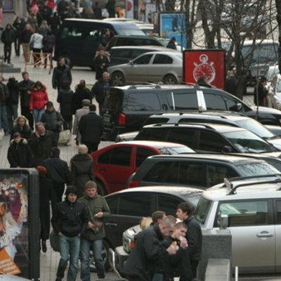 В Украине все  водители будут платить за парковку