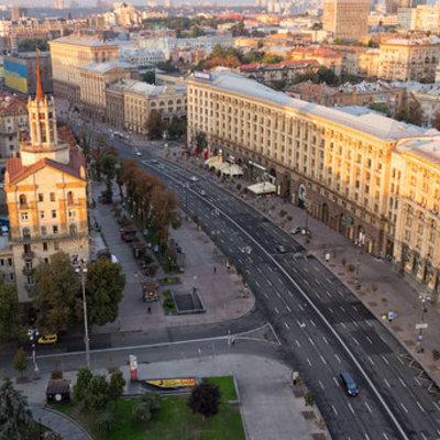 В Киеве  будут праздновать день Канады, на день перекроют Крещатик