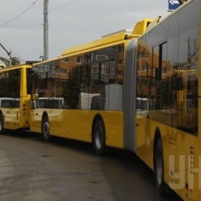 В Киеве закрывается популярный троллейбусный маршрут