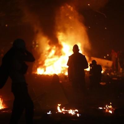 Гамбург после акций протеста: Разбитые витрины, сотни раненных и задержанных