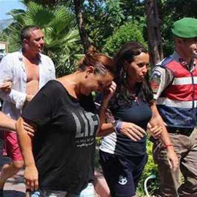 Российские туристы устроили очередную выходку в Турции (фото, видео)