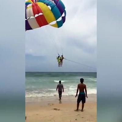 В Таиланде женщина сняла смертельное падение своего мужа с 70-метровой высоты (видео)