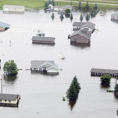 В США наводнение, есть погибшие