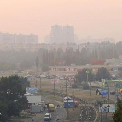 Смог в Киеве рассеется до августа