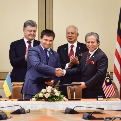 Украина и Малайзия договорились об активизации военно-технического сотрудничества