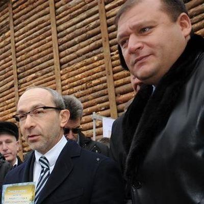 В Харькове дома Добкина и Кернеса обыскивают вместе с