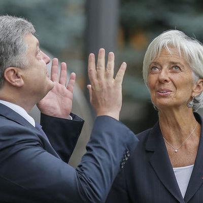 Украинские власти пообещали МВФ, что проведут реформы