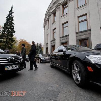 Депутаты ВР наездили в сентябре на 430 тысяч гривен