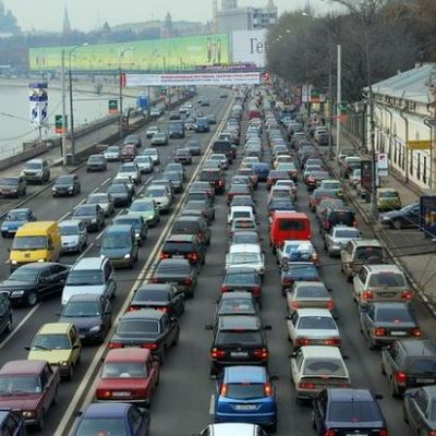 Столица стоит: в Киеве пробки достигли 8 баллов