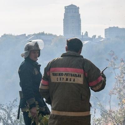В центре Киева случился пожар, есть жертвы