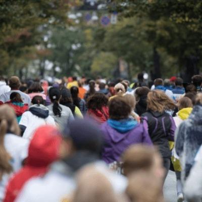 Дождь не помеха: в Киеве состоялся «мокрый» марафон (фото)