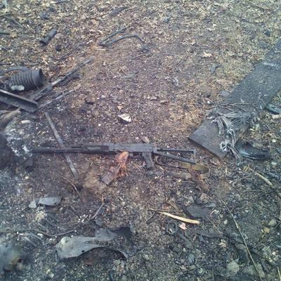 В зоне АТО сегодня был взорван грузовик с солдатами
