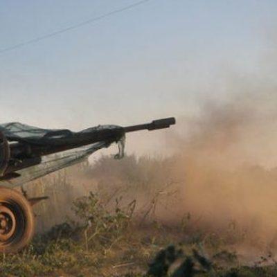 Боевики массово бомбят Широкино, много жертв