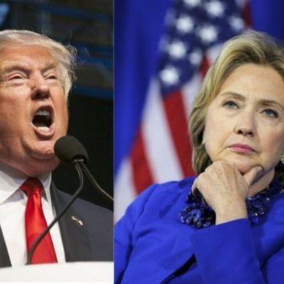 Трамп и Клинтон станцевали вместе (видео)