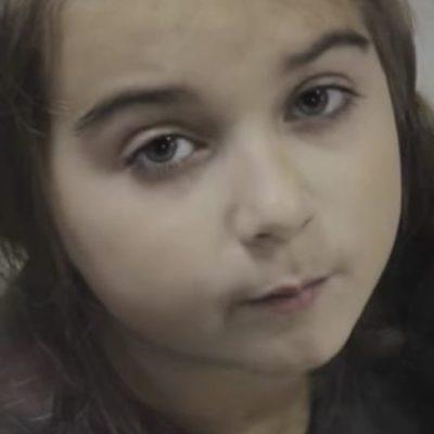 7-летняя девочка написала стихотворение отцу в зону АТО - до слез (видео)