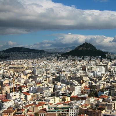 Взрыв бомбы в центре Афин