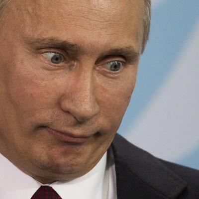 Улыбка Путина: яркая и ужасная маска к Хеллоуину (фото)