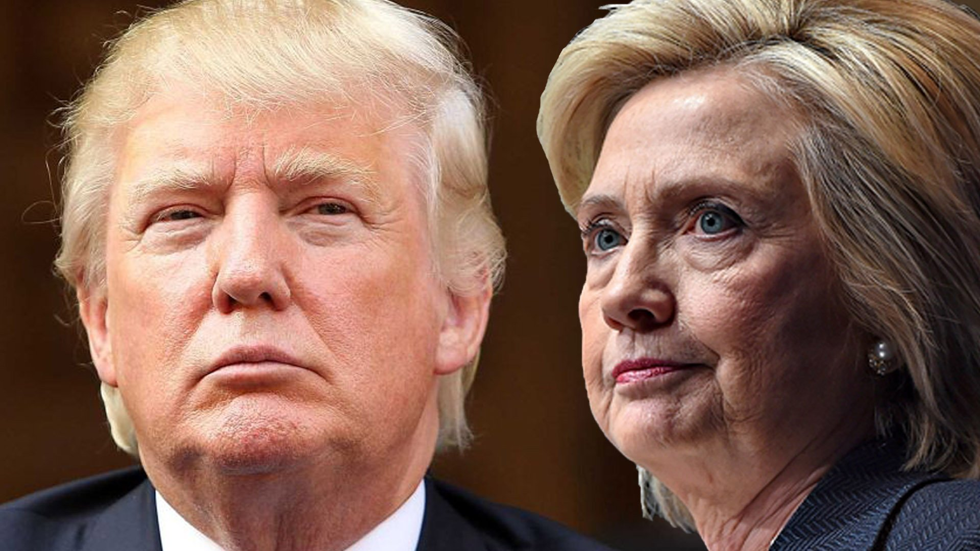 фото трамп клинтон