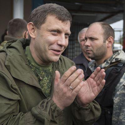 Захарченко прорвался в Горловку и стал просить у Украины тяжелые танки