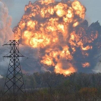 Украинским военным ответным огнем удалось подорвать казарму боевиков под Авдеевкой