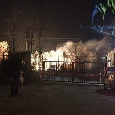 Российский Мурманск погрузился во тьму из-за взрыва
