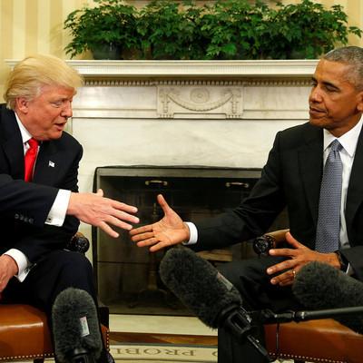 Обама отменил совместную с Трампом фотосессию в Белом доме