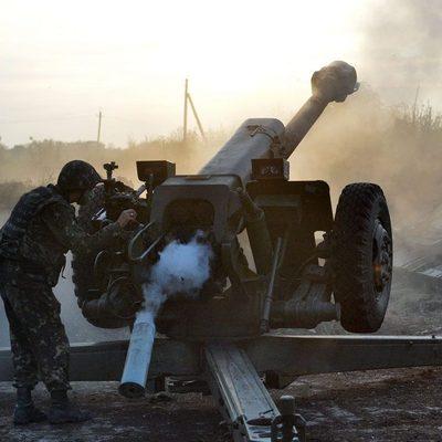 Под Донецком проходит ожесточенный бой