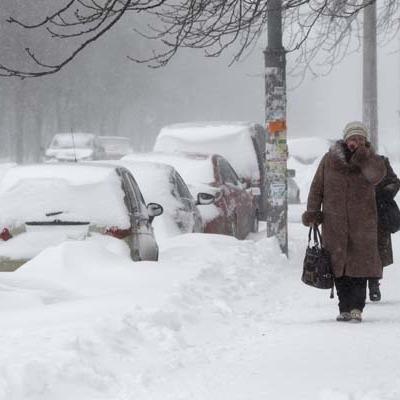 Вслед за снегопадами в Украину придут сильные морозы