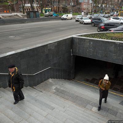 Подземные переходы на Крещатике закроются на длительный срок
