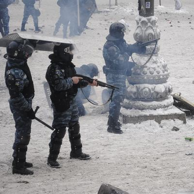 Суд не взял под стражу «беркутовца», подозреваемого в расстреле Майдана