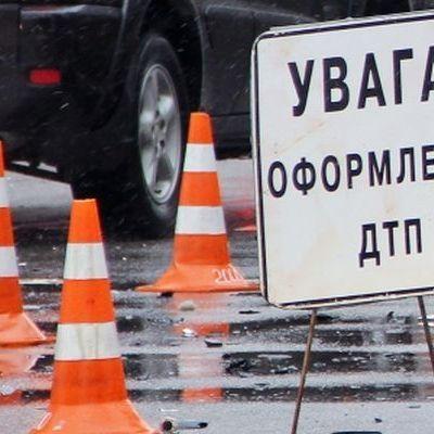 На Днепровщине иномарка влетела в автобус с людьми
