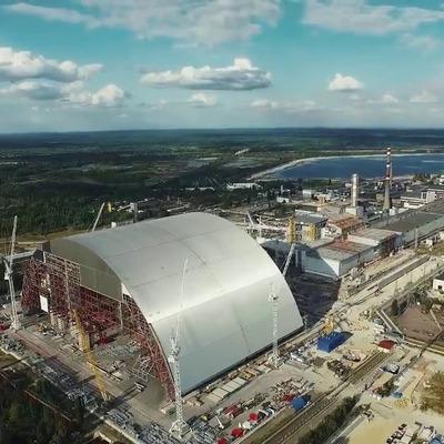 Появилась точная дата накрытия четвертого энергоблока на Чернобыльской АЭС (Видео)