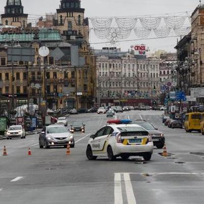 Центр Киева перекрыли