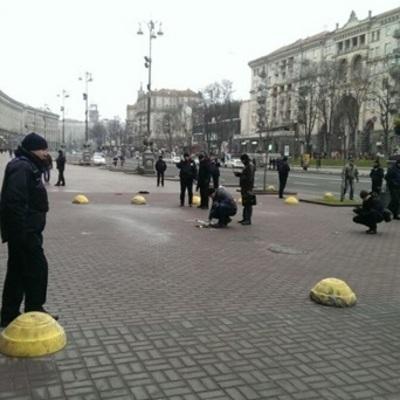 В Киеве возле КГГА прогремел взрыв