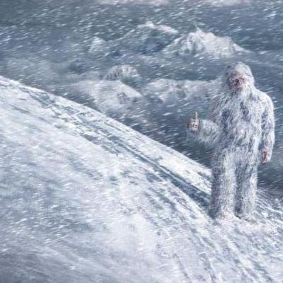 В России обнаружен снежный человек (видео)