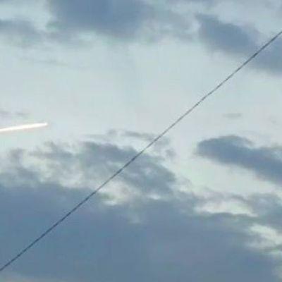 После землетрясения в Японии заметили НЛО (видео)