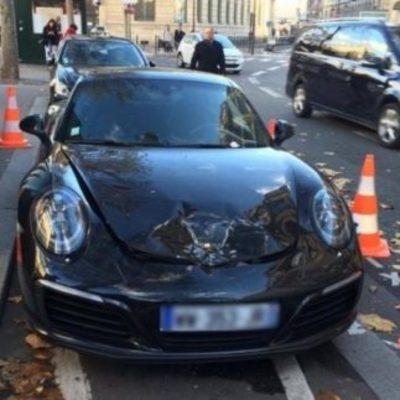 Полиция жестоко отреагировала на неправильно припаркованный Porsche