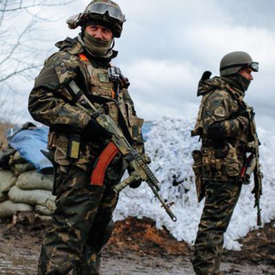 «Айдар» на глазах съемечной группы отбил атаку диверсантов «ДНР» (Видео)