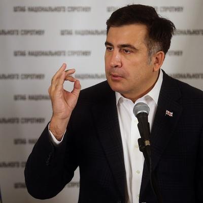 Саакашавили случайно «ляпнул лишнего» о Порошенко