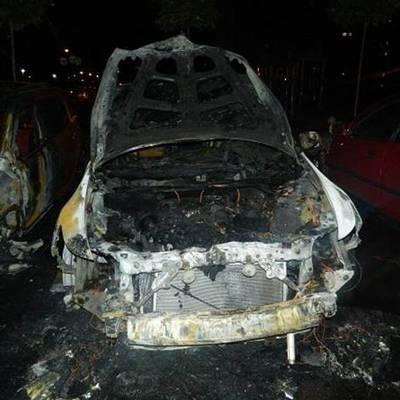 Поджог авто в Киеве: появились подробности