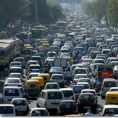 В Киеве образовалась восьмикилометровая пробка (фото)