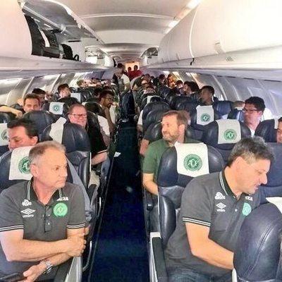 В Колумбии упал самолет с футбольной командой из Бразилии (фото)