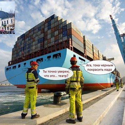 Транспортные контейнеры и балконы: в соцсетях показали свое видение нового театра на Подоле (фото)