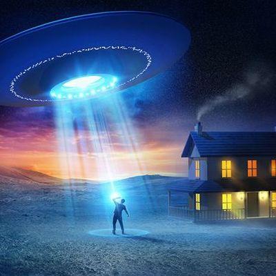 В США засняли взлет огромного плазменного НЛО (видео)