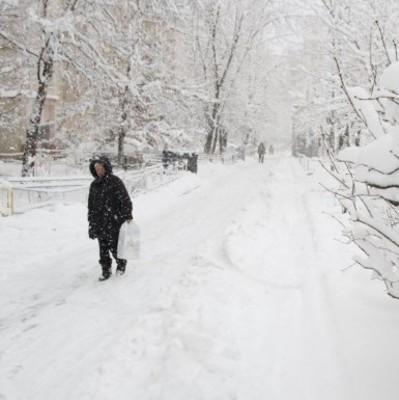 На выходных Украину заметет снегом