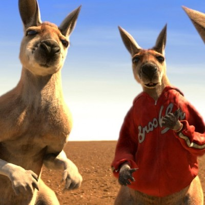 Поединок года: Австралиец подрался с кенгуру ради спасения собаки (Видео)