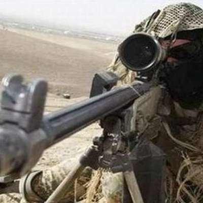 Появилось видео, как вражеский снайпер убил украинского солдата