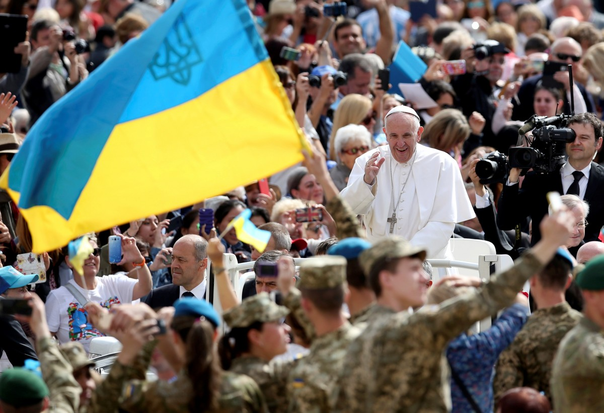 """Результат пошуку зображень за запитом """"папа франциск україна"""""""